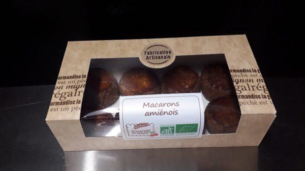 Macarons Amiénois Bio - Biscuiterie du Verger