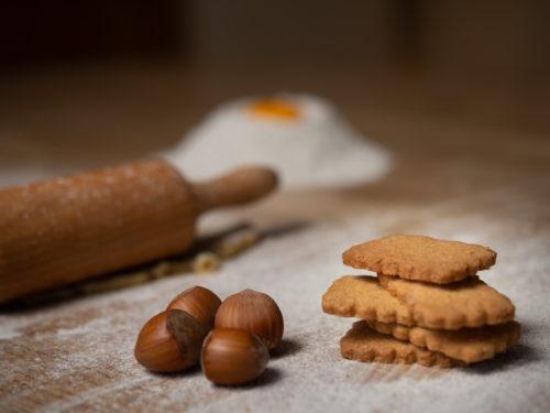 Sablé bio rustique épeautre noisette - Biscuiterie du Verger