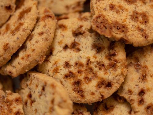 Sablé caramel-beurre salé - Biscuiterie du Verger
