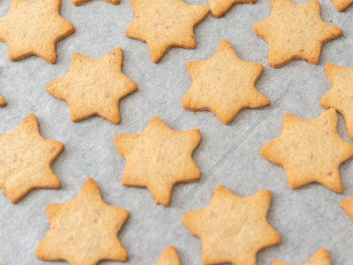 Sablé sucré bio étoile cannelle - Biscuiterie du Verger