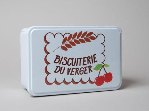 Sablés Salés Apéro'Bio Assortis boite métal - Biscuiterie du Verger